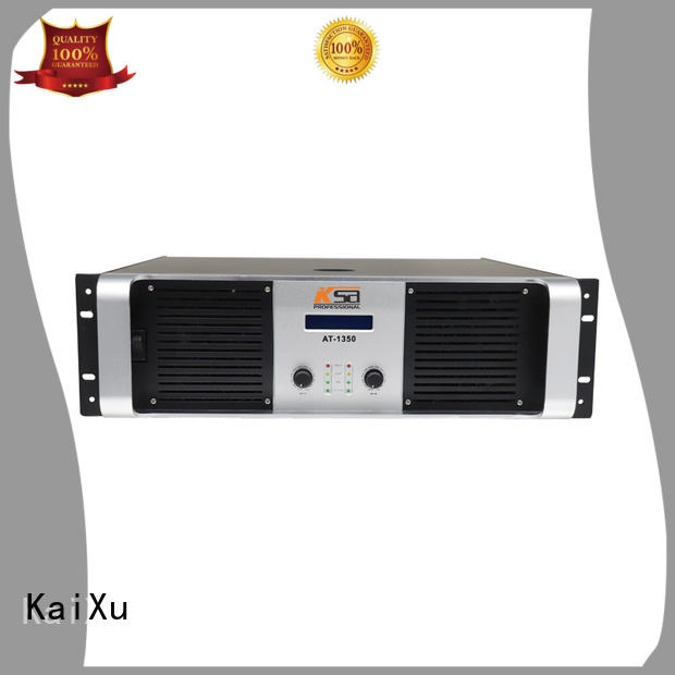KaiXu quality home theatre amplifier transistor lcd