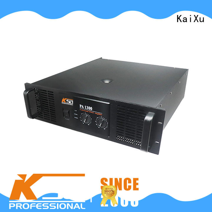 customized basic audio amplifier cheapest factory price for bar KaiXu