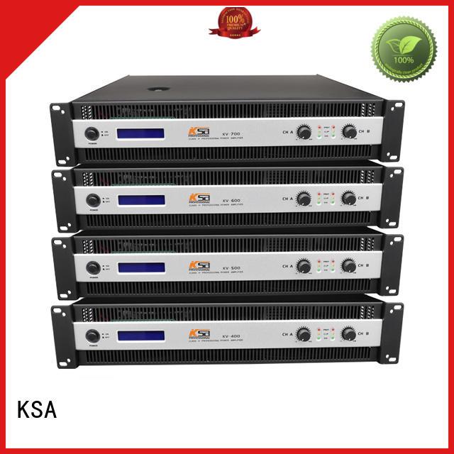 KSA worldwide home theater power amplifier supply for speaker