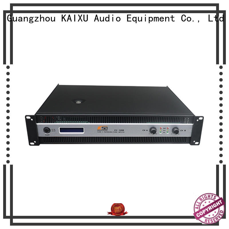 KSA professional hifi power amps stable dj sound
