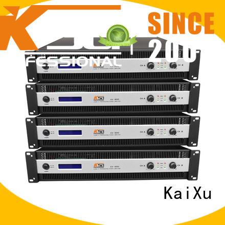 KaiXu low basic stereo amplifier low dj sound