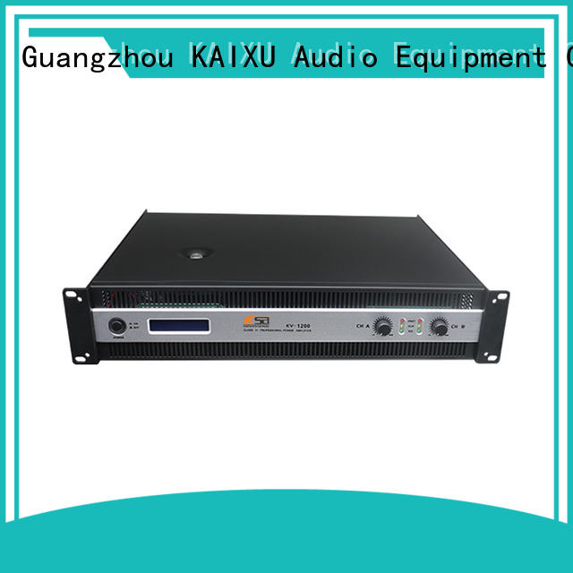 KSA energy-saving amplifier power manufacturer for club
