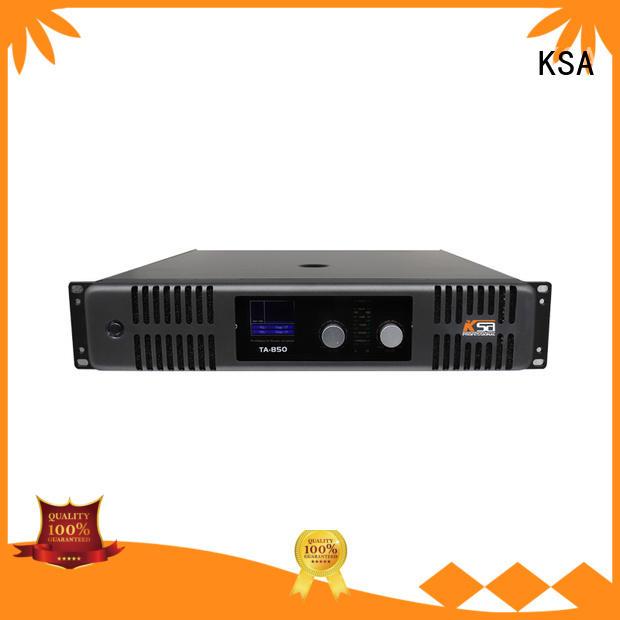 KSA dj amps company