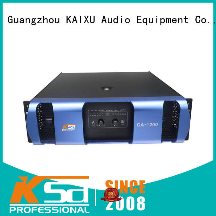 KaiXu cheap small amplifier high quality for club
