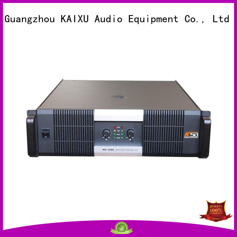 cheap live sound amplifier best quality for club KaiXu