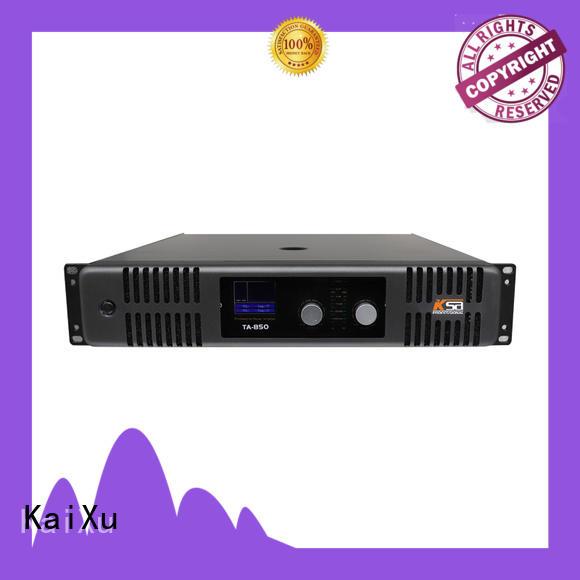 KaiXu simple power amplifier sound for club