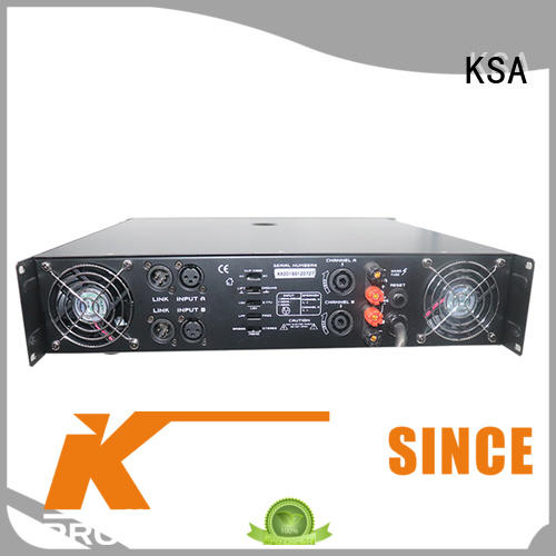 KSA best price types of amplifiers factory direct supply for club