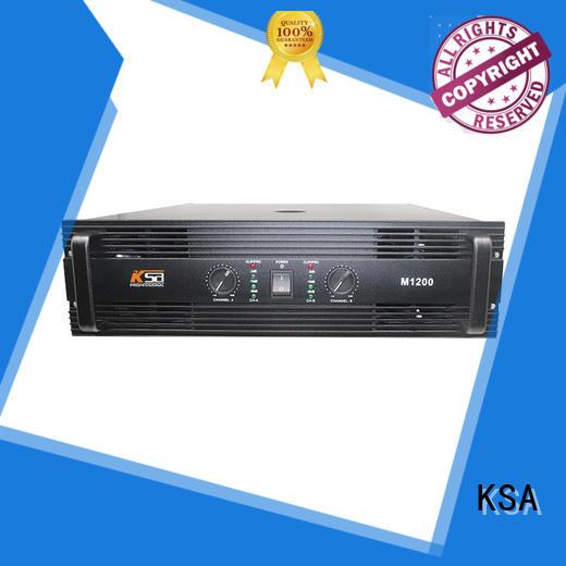 KSA professional home audio amplifier best quality for transformer