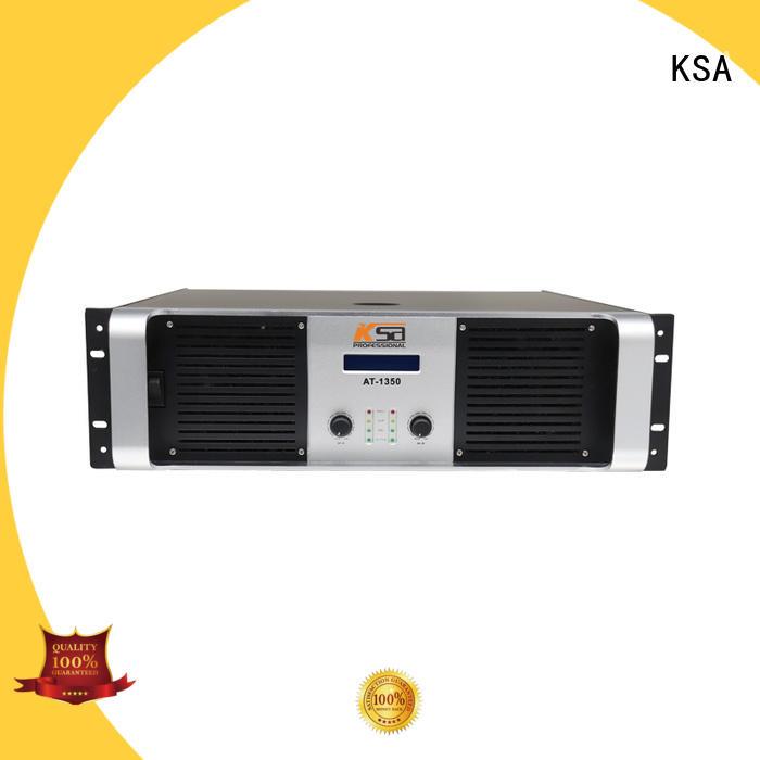 KSA circuit audio power amplifier strong for speaker
