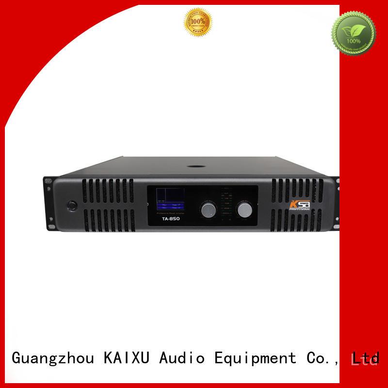 professional audio power amp sound for speaker KaiXu