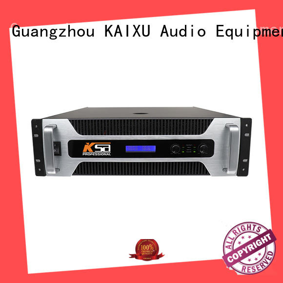analog high power amplifier channel classroom KaiXu