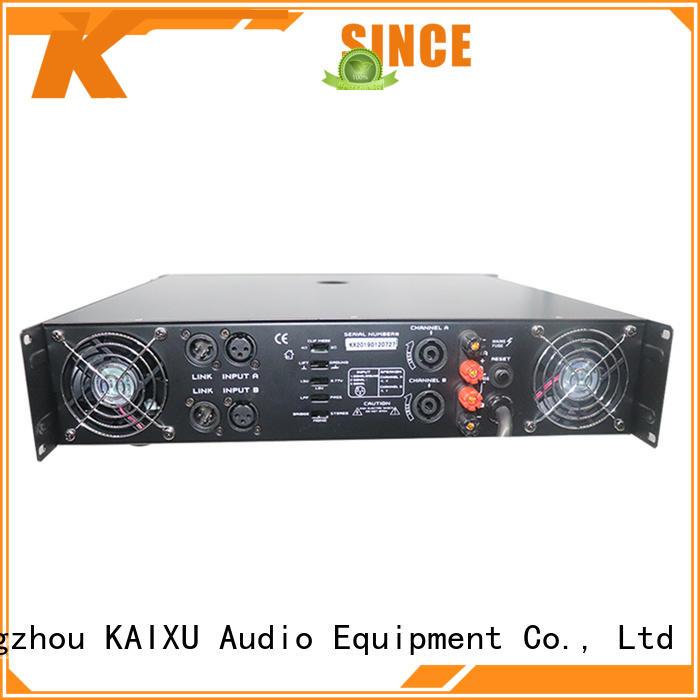KSA professional pro audio amplifier manufacturer for club