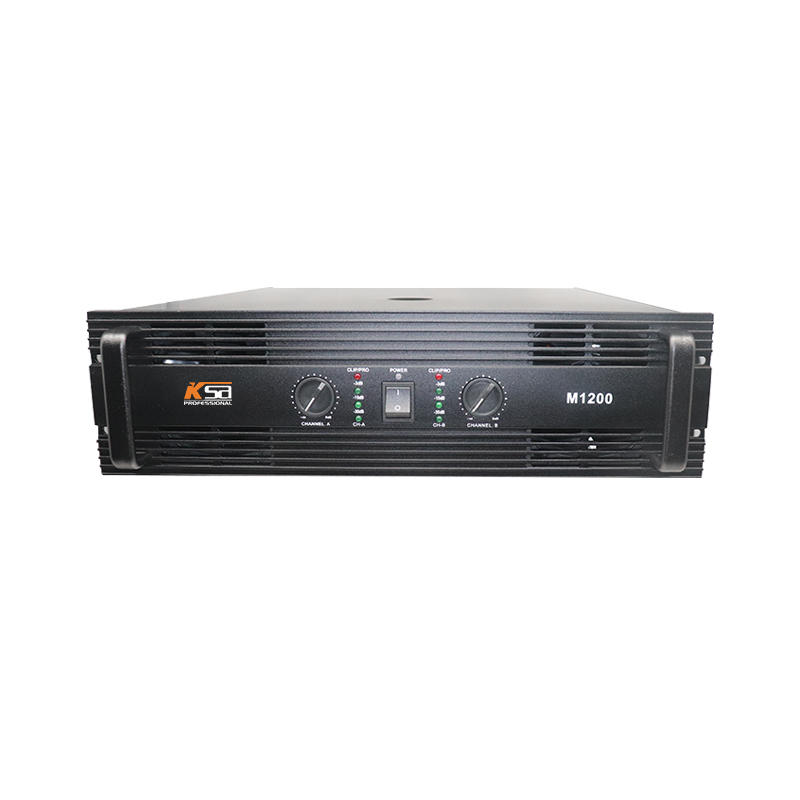 M1200W professional power sound amplifier for KTV  subwoofer