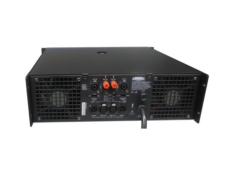 KSA best value power amplifier sound system series for night club