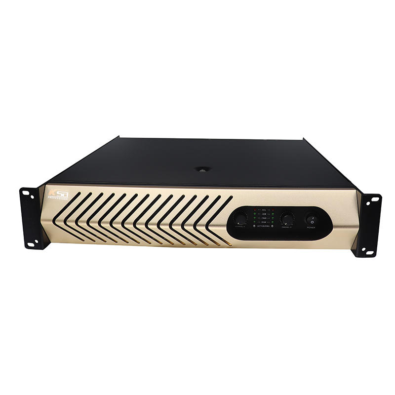 KSA reliable two channel home audio amplifier manufacturer karaoke equipment