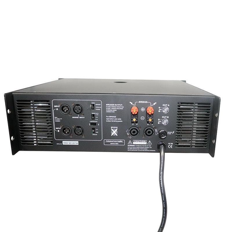 OEM design high powerd best audio compact power amplifer factory