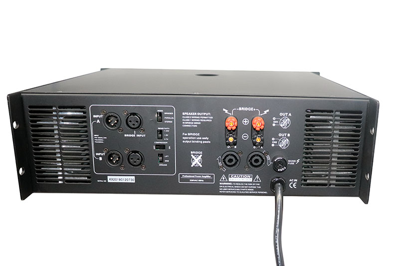 KSA best dj amplifier high quality for stage-4