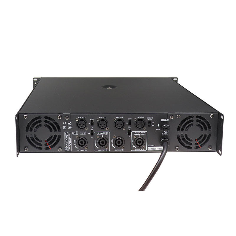 Professional audio system 800W 4channels toroidal transformer best amplifier class H