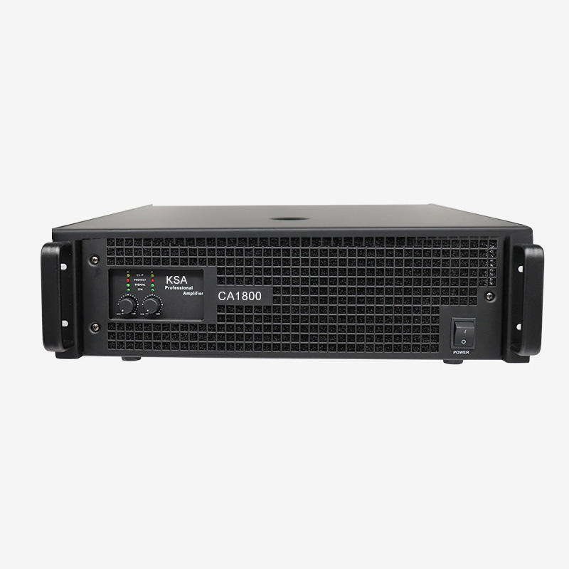 High damping factor professional audio power amplifier drive line array speaker system
