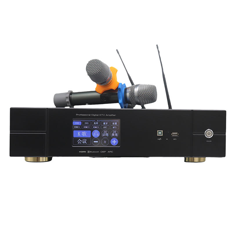 3 in 1 home amplifier with microphone