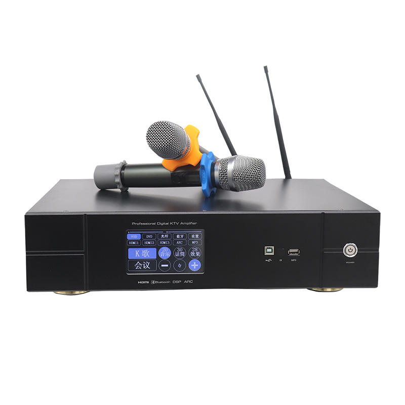 H class three in one  with bluetooth stereo professional power amplifier