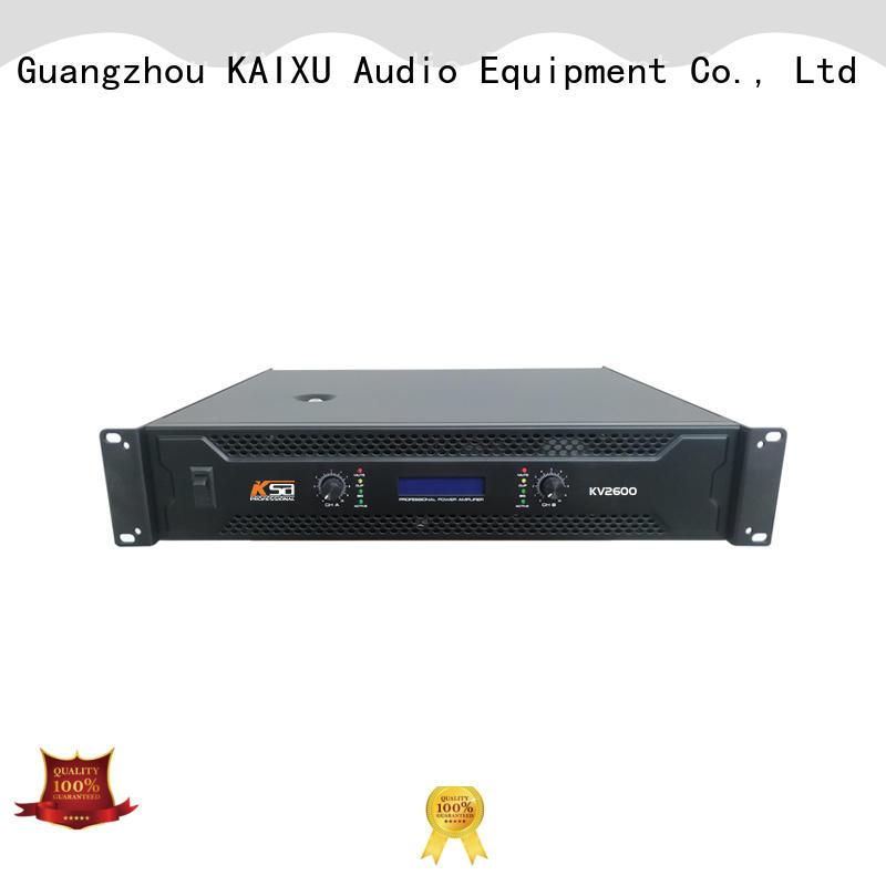 KSA hot-sale hifi power amps best supplier for ktv