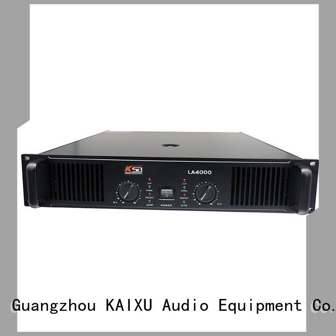 KSA top quality dj power amplifier company for ktv