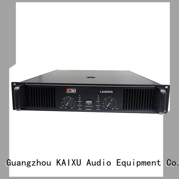 KSA top quality dj power amplifier company for ktv