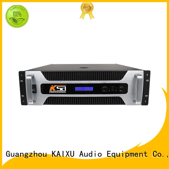 audio high power amplifier strong for stage