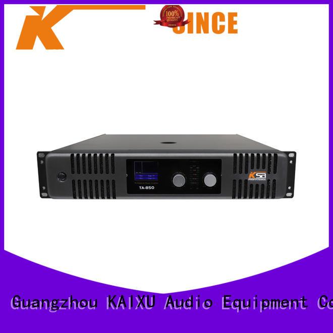 equipment best power amplifier for live sound professional KaiXu