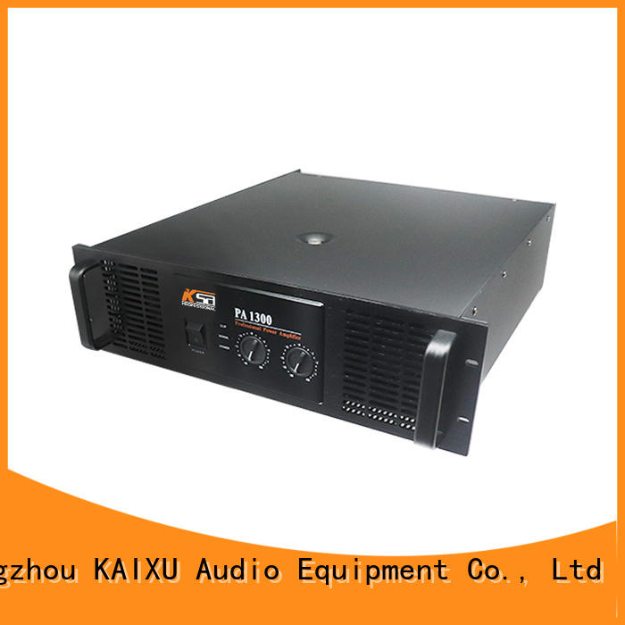 top quality pa amplifier factory for night club