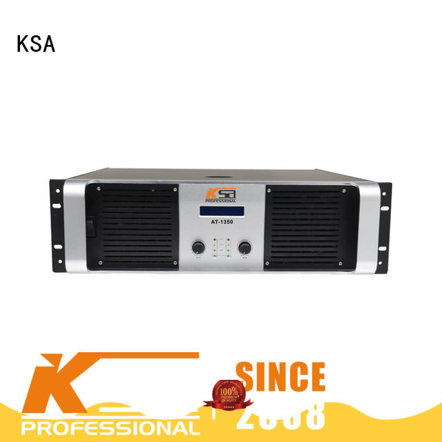KSA stereo amplifier for stage