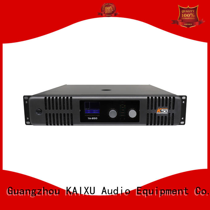 KaiXu high-quality home audio stereo amplifier design subwoofer