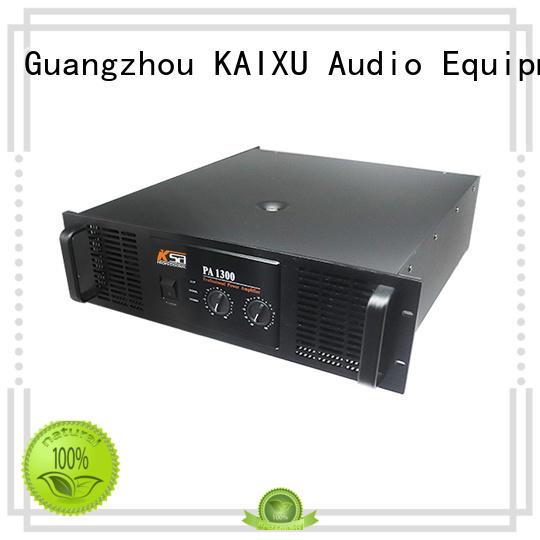 KSA sound amplifier cheapest factory price for ktv
