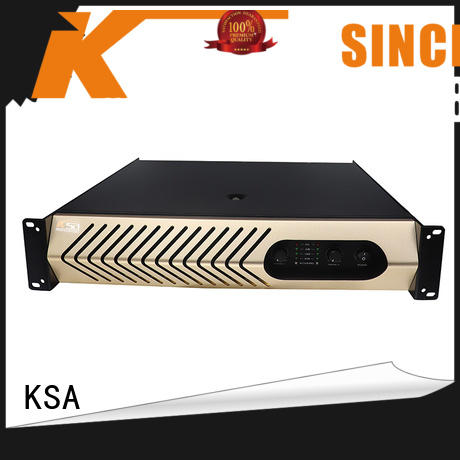 KSA studio amplifier bulk production for club