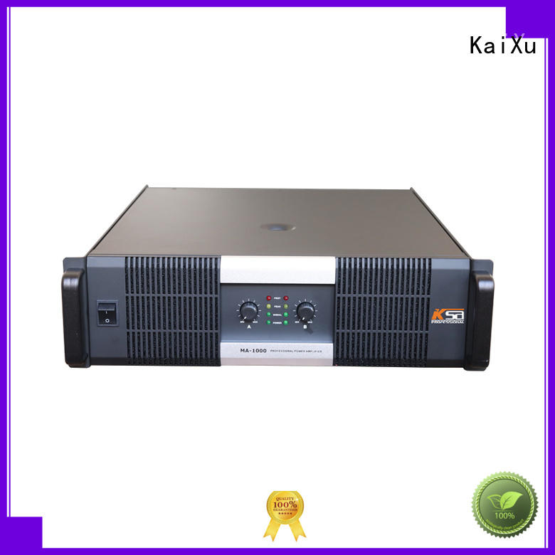 KaiXu audio channel power amplifier cheapest factory for club