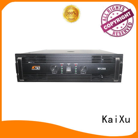 KaiXu amplifier channel power amplifier cheapest factory for transformer