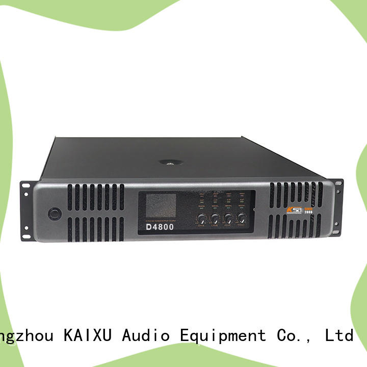 KSA factory price hifi power amp directly sale for speaker