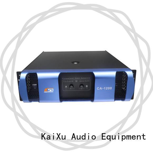 KSA best value power amplifier sound system series for night club