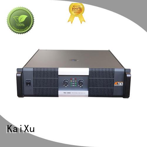 KaiXu customized 2ch power amplifier best quality for club