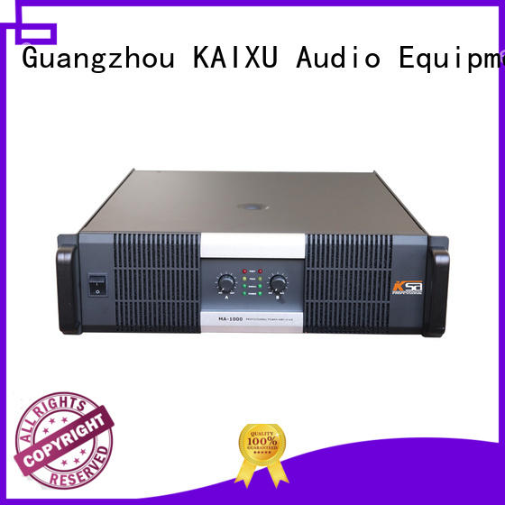 professional best stereo power amplifier best quality for ktv