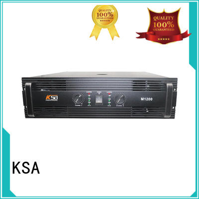 KSA best stereo amplifier series for ktv