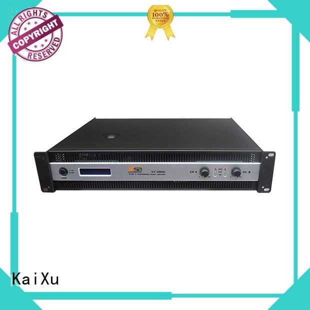 KaiXu professional best value power amplifier sales kv