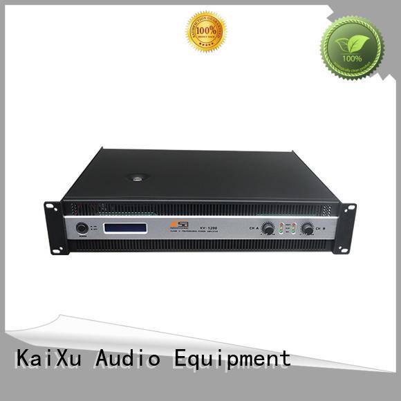 KSA stable stereo power amp high quality series