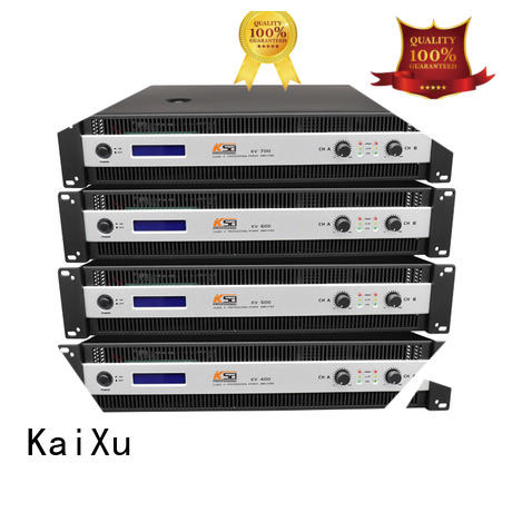 KV series professional H class Low to Mid power DJ amplifier