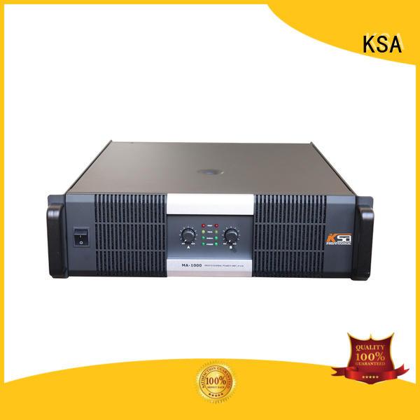 KSA cost-effective best stereo amplifier best supplier for club