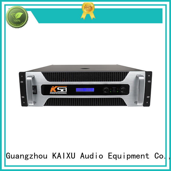 KSA home amplifier strong for stage