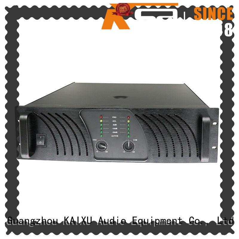 KSA power amplifier class h professional for classroom