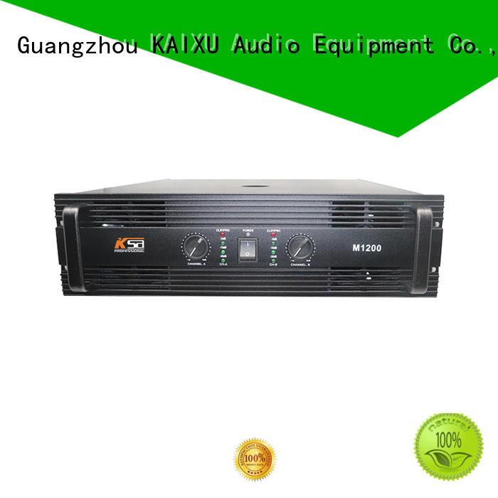 karaoke outdoor best stereo power amplifier professional class KaiXu Brand