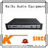 KSA professional best power amplifier for dj equipment channel